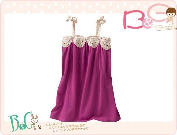 【B& G童裝】正品美國進口GAP紫紅色背心裙18-24mos