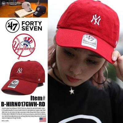[SREY帽屋]現貨*47 Brand CLEAN UP Base Runner 小LOGO MLB 紐約洋基 老帽