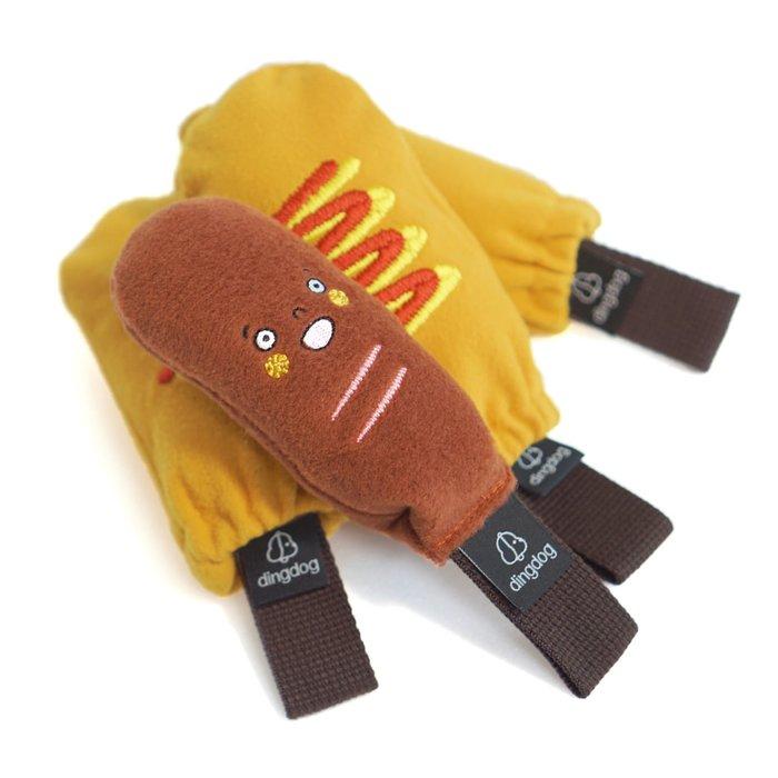 貝果貝果  韓國 Dingdog   啾啾熱狗  藏食玩具  [T3800]