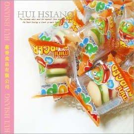 YUPI漢堡QQ軟糖~德國創意軟糖~每一層都是不同口感【AK07092】