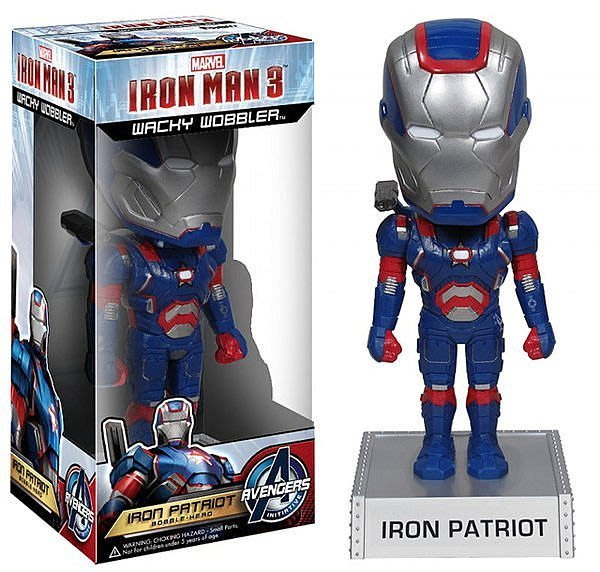 【AVANTER】代購 美國原裝 FUNKO 鋼鐵人 3 電影版 愛國者 搖頭公仔 Marvel 授權 現貨款