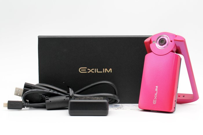 【橙市3C】Casio TR-60 TR60 桃紅色 自拍美顏相機 二手美顏相機 #28303