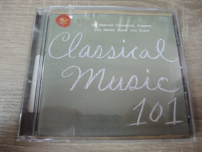 ◎MWM◎【二手CD】Classical Music 101 美版,有ifpi,少許刮痕不影響讀取