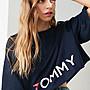 代購 Tommy Hilfiger X UO Short Sleeved Cropped Tommy Tee 海軍藍