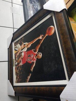 michael jordan  長57cm寬67cm 美國製 精選照片相框