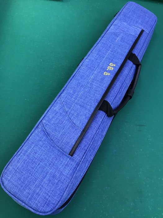全新 LS.L 七孔尼龍布 軟包 球桿袋 淺藍色 軟袋 3B4S 球包