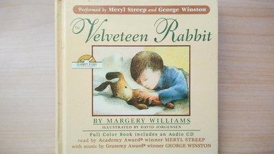 ## 馨香小屋--喬治溫斯頓 The Velveteen Rabbit 絨毛兔 (梅莉.史翠普聲音演出) 音樂有聲繪本