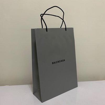 Balenciaga 巴黎世家 新款 灰色 大 直立款紙袋包 購物包 全新國外帶回