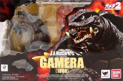 日本正版 萬代 S.H.MonsterArts SHM 卡美拉 1996 可動 模型 公仔 日本代購