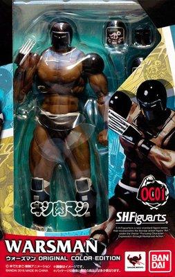 日本正版 萬代 S.H.Figuarts SHF 金肉人 筋肉人 戰爭人 OCE 原色版 可動 模型 公仔 日本代購