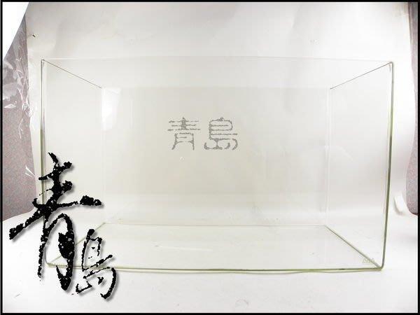 PY。。。青島水族。。。102-801日本ADA----無接縫一體成型水晶缸==W60×D30×H36