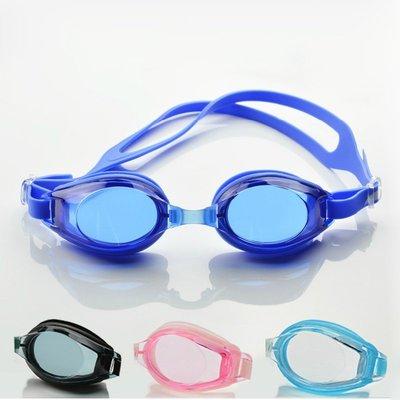 簡潔舒適防水防霧防紫外線泳鏡-成人款-男女適用-現貨或預購JJ2659
