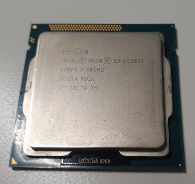 Intel CPU E3 1230V2 效能相當於I7 3770