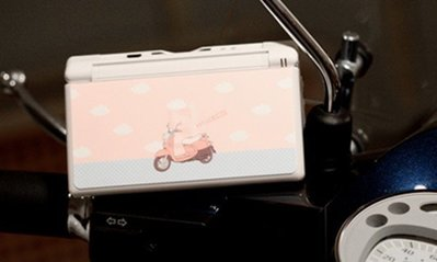 *YOOWOO*特賣【韓國空運 EB 任天堂 DS 彩繪機身保護貼 ~ 粉紅小偉士】NDSL NDS不留殘膠