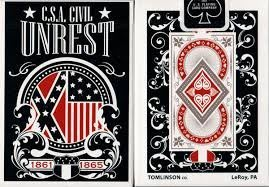 【USPCC撲克】Civil Unrest Playing Cards unbranded Confederate
