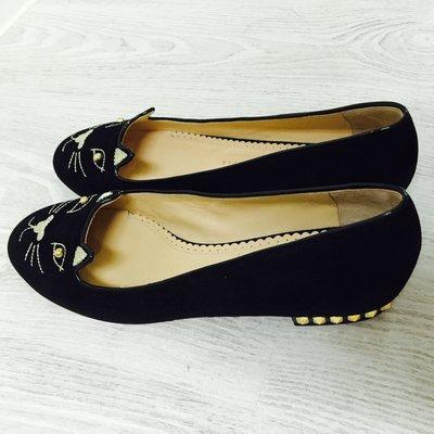 降價!!!Charlotte Olympia Kitty stud flats 貓咪鞋 鉚釘跟 36 現貨