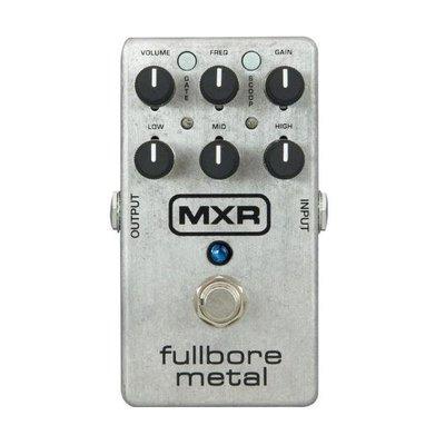 ☆ 唐尼樂器︵☆ Dunlop MXR M116 FULLBORE METAL 破音 效果器