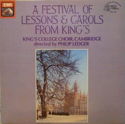 §小宋唱片§英版EMI/A Fesitival of Lessons&Carols From King's/劍橋國王學院