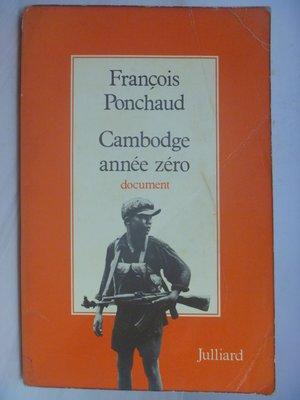 【月界】Cambodge annee zero-document_François Ponchaud_法文〖社會〗AGR