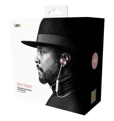 100%正品Original i.am+ BUTTONS入耳式無線耳機
