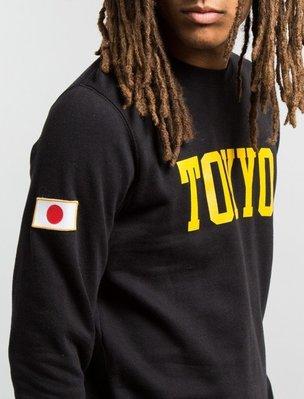 ☆AirRoom☆ 【現貨】STUSSY TOKYO IST CREW 東京 大學TEE 黑 灰 1913610