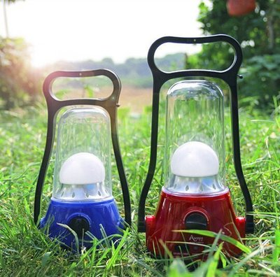 【優上精品】戶外露營燈 可充電 應急燈 營地燈 LED帳篷照明馬燈(Z-P3235)