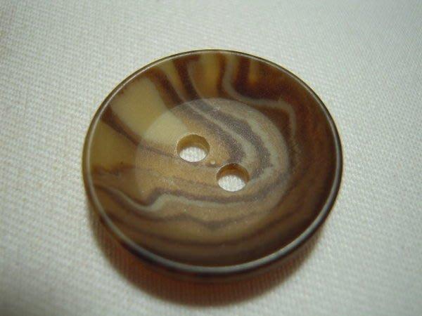 ※布箱子※ 縫紉拼布手作配件~扣子.鈕扣.釦子(DT320)~雙孔~25mm~剩最後1個