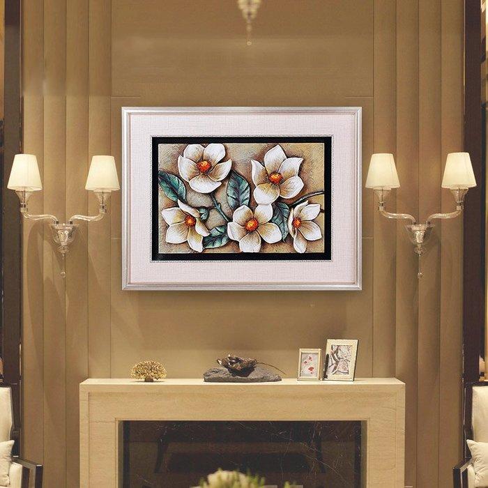 鉆石畫 滿鉆牡丹 十字繡 點貼鉆石繡臥室磚石秀小件小幅 鑽石畫