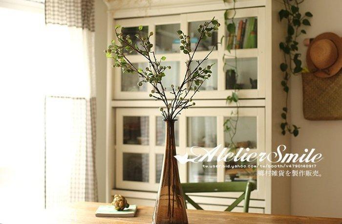 [ Atelier Smile ] 鄉村雜貨 小花園系列 仿真超大果子花 裝飾果樹 仿真植物 兩色選 (現+預)