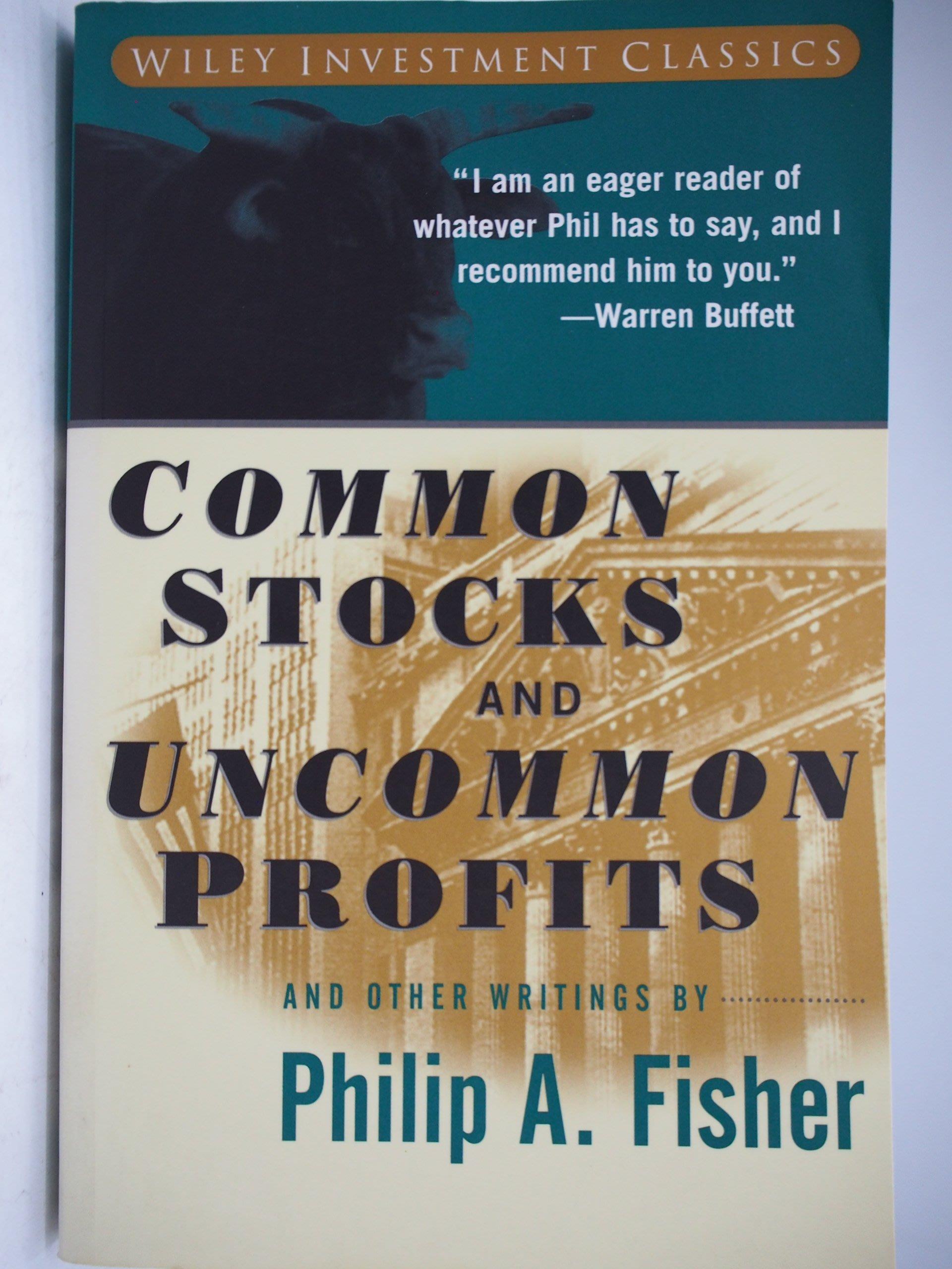 【月界】Common Stocks and Uncommon Profits_Fisher_非常潛力股 〖股票〗CHS