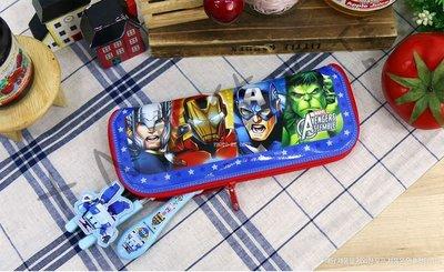 [佳恩現貨][Marvel]拉鍊式餐具袋 (大)美國隊長 Avengers Assemble 復仇者聯盟 韓國