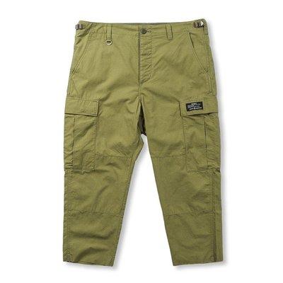 20SS Uniform Experiment HEM CUT OFF CROPPED CARGO PANTS 正品公司貨 現貨 含運 ue