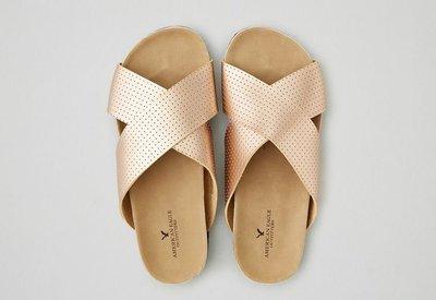 【美衣大鋪】☆ ae AMERICAN EAGLE OUTFITTERS ☆X-Band Molded 涼鞋