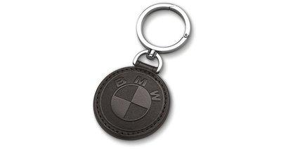 【樂駒】BMW 原廠 Leather Key Ring 精品 周邊 鑰匙圈 鑰匙 吊飾 皮革 義大利製 LOGO 經典款