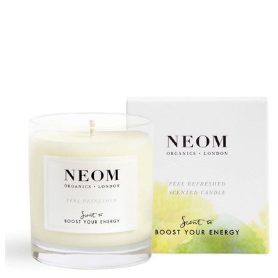 現貨✈️ Neom 清新甦活 完美幸福 香氛蠟燭 185g boost your energy feel refreshed /calm and rel