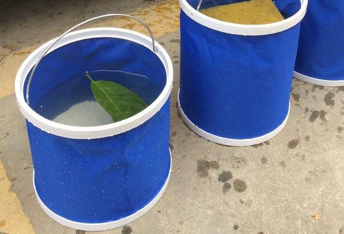 11公升摺疊水桶 露營釣魚戶外活動必備