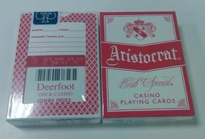 Deerfoot Casino 撲克牌 1(紅背)