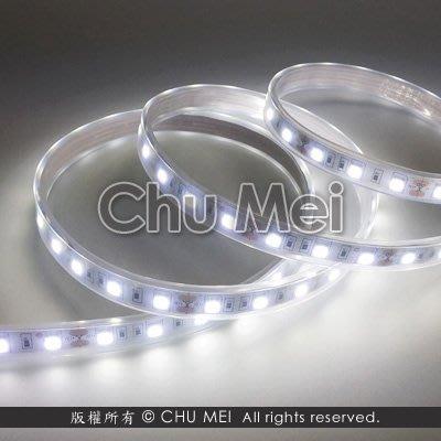 24V-晝白光LED-5050-SMD軟條燈(套管) - 晝白 led 軟條燈 軟燈條 條燈 燈條 .