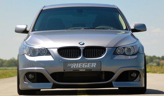 【樂駒】RIEGER BMW 5-series E60 E61 front bumper 前保桿 保桿 外觀 改裝 套件