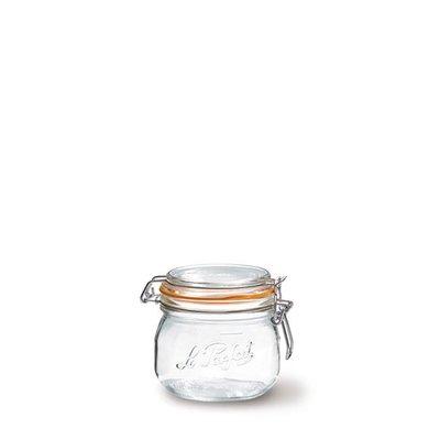 ☘小宅私物 ☘ 法國 Le Parfait 玻璃密封罐 經典系列 0.25L 單入 (含密封圈) 收納罐 現貨 附發票