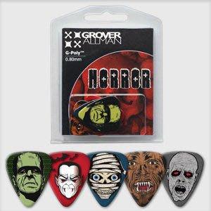 ☆ 唐尼樂器︵☆澳洲製 Grover Allman 主題系列『Horror』烏克麗麗/木吉他/電吉他 Pick 彈片