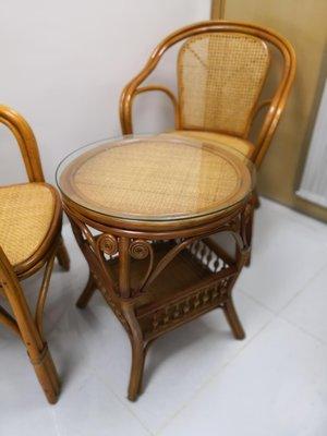 室內或戶外藤器枱椅