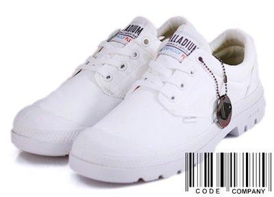 =CodE= PALLADIUM PAMPA OX PUDDLE LT+ WP 防水輕量軍靴(全白)76116-100女