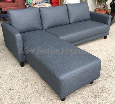 【New Design Furniture】可左右調整超耐刮貓抓皮L型沙發小套房/小客廳/出租套房