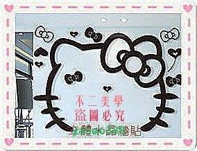 美學82浪漫凱蒂屋Hello Kitty 水晶立體牆貼 電視背景牆貼 壓❖9117