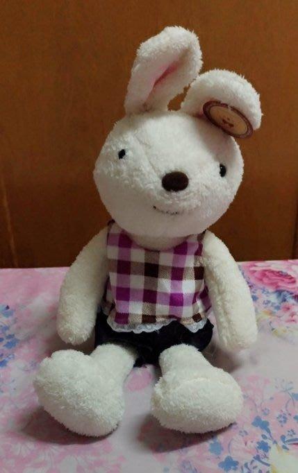 {欣娃小舖}~穿衣服的兔子 絨毛娃娃(53cm)