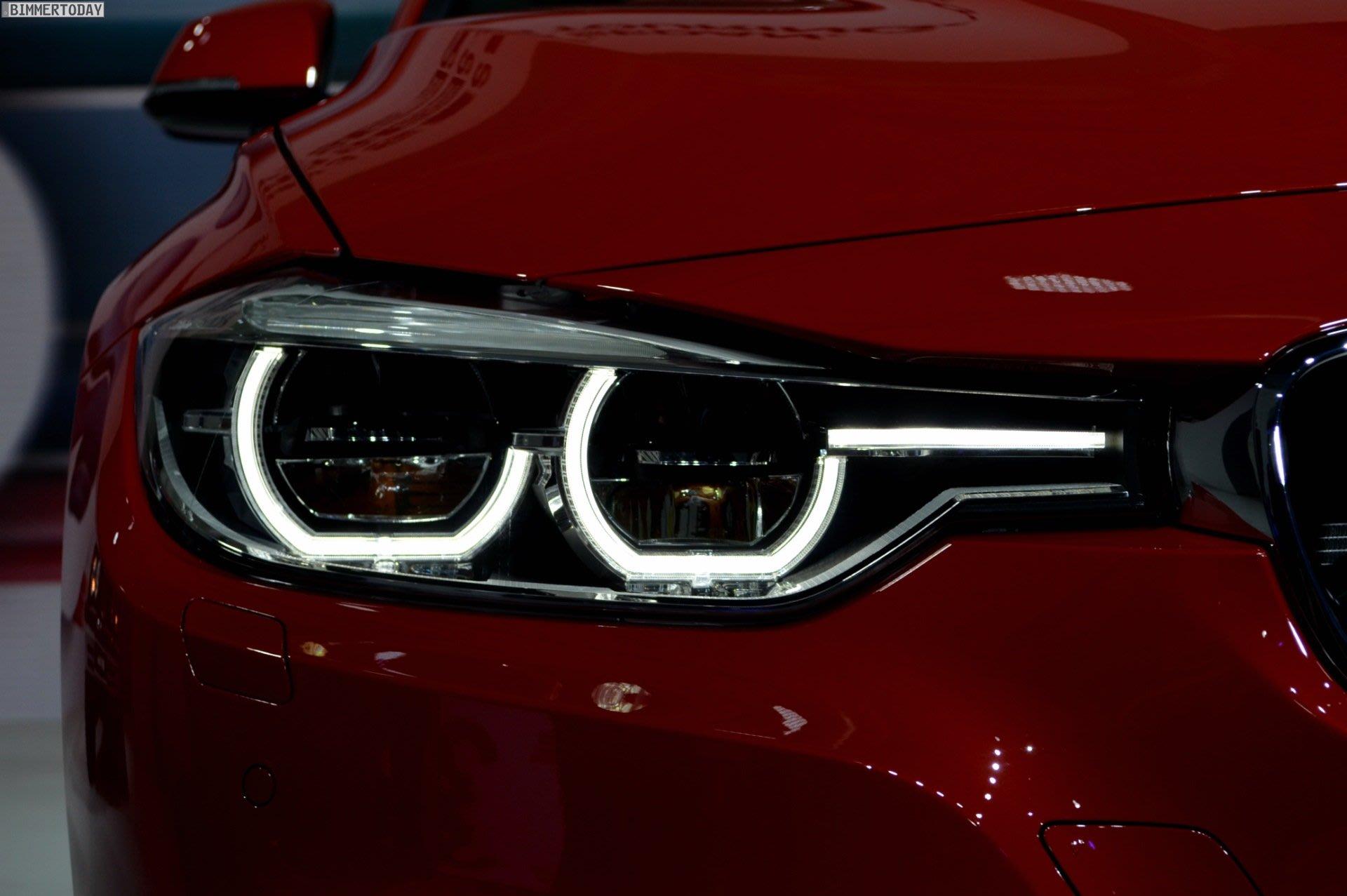 【樂駒】BMW 原廠 F30 F31 升級 LCI LED Black Line 燻黑大燈組 電子改裝套件
