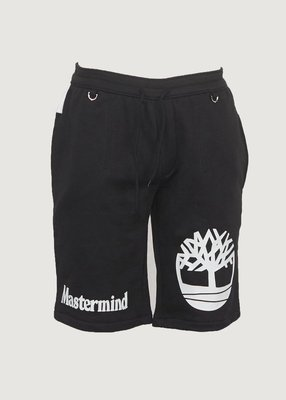 Timberland x Mastermind MMJ MMW 聯名 2018 短褲 骨頭 骷顱 黑色 M XL