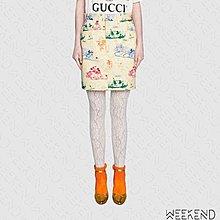 【WEEKEND】 GUCCI x DISNEY 迪士尼 聯名 米奇 Drill 裙子 短裙 539778