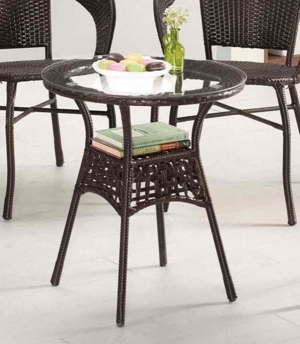 【DH】商品編號G1015-1商品名稱爾茶休閒桌(圖一)桌面:5mm強化玻璃。備有椅可搭另計。主要地區免運費